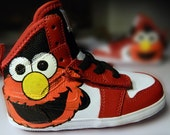Children's Shoes Custom Painted Kids Sneakers
