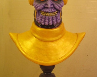 Thanos OOAK Small-Scale Polymer Clay Bust