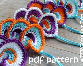 Crochet pattern SPIRAL by ATERGcrochet