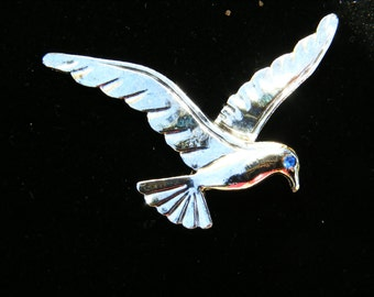 Gerry's Seagull Figural Pin