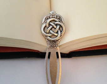 Celtic Bookmark Celtic knot or Claddagh Symbol In stock and ready to ship