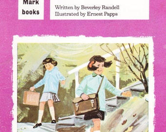 Meg and the Windy Day -  Childrens Story Book Vintage 1960s