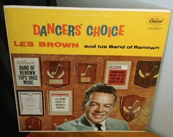 """Les Brown and his Band of Renown - Dancers' Choice - T 812 - 12"""" vinyl lp, mono album (Capitol Records,1956)"""