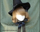 Magical Fancy Witch hat set