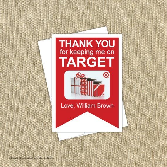 target gift card holder instant download. Black Bedroom Furniture Sets. Home Design Ideas