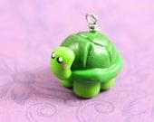Cute turtle charm chibi kawaii necklace