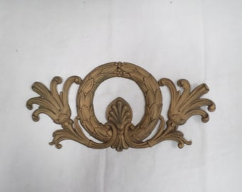 French Antique Gilt Bronze Brass Furniture ornament Ormulu 1800s  v102