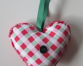 Cath Kidston heart Christmas decoration - shabby chic christmas
