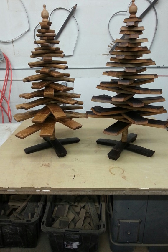 Sale Christmas Tree Made From A Recycled Wine Barrel