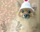 Pet Valentine's Day Beanie (XS-XL)