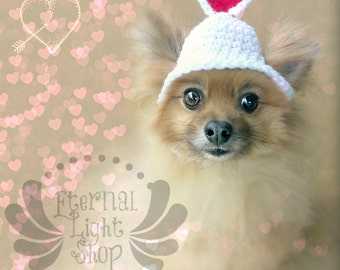 Pet Valentine's Day Beanie (XS-XL)