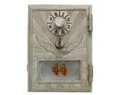 Vintage Industrial P.O. Box Doors--Mid Century P.O. Door