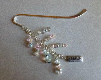"Shepherd's Hook Bookmark with ""Dream"" Charm"