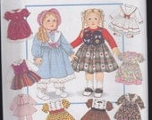 Easy Doll Clothes Patterns - Design Your Own by Simplicity Patterns - 8961