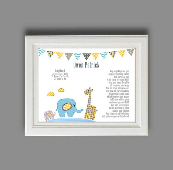 Gift Baby Boy Baptism : Baby boy baptism gift christening gifts for boys
