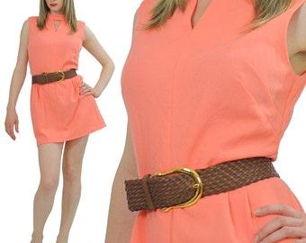 Vintage Boho mini dress 70s Hippie mini dress Mod mini dress Festival dress  Space age dress Mod dress dolly mini dress Boho dress Medium M
