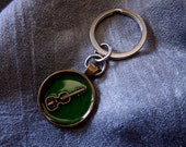 Guitar Keychain - Music K...