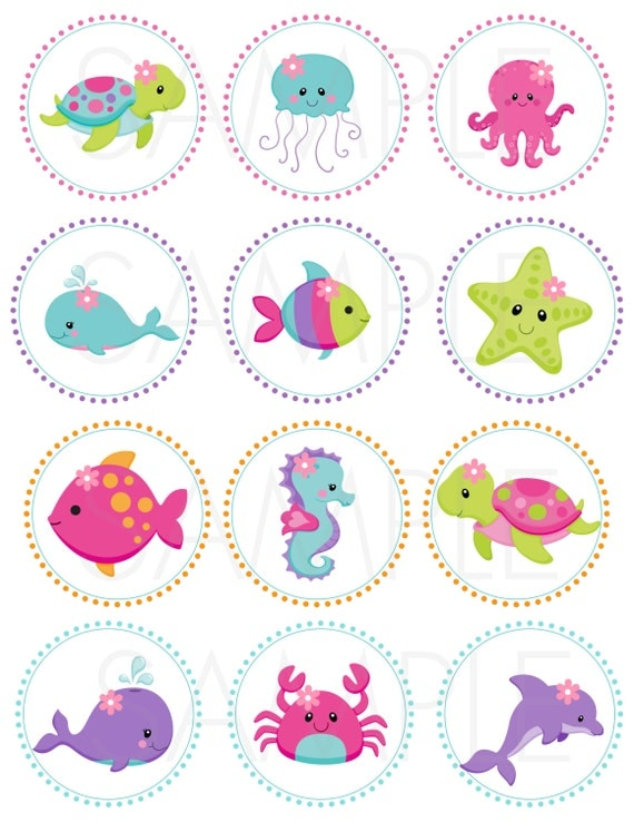 Canny image within under the sea printable