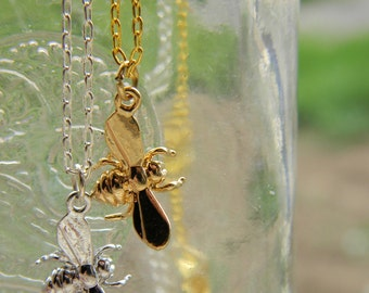 Bees Knees Charm Necklace