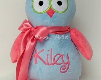 Personalized Plush Stuffed Owl Pillow Soft Toy
