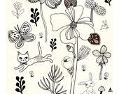 """A2 Artprint """"Nature love"""" (Motifs Emotifs serie) (limited edition)"""