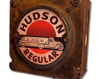 Rustic Industrial Hudson Oil Night Light Industrial Chic