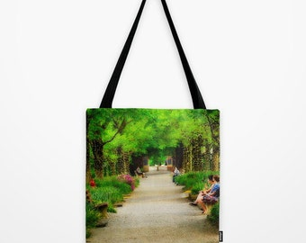 Tote Bag Kenyon College Gambier Ohio Middle Path