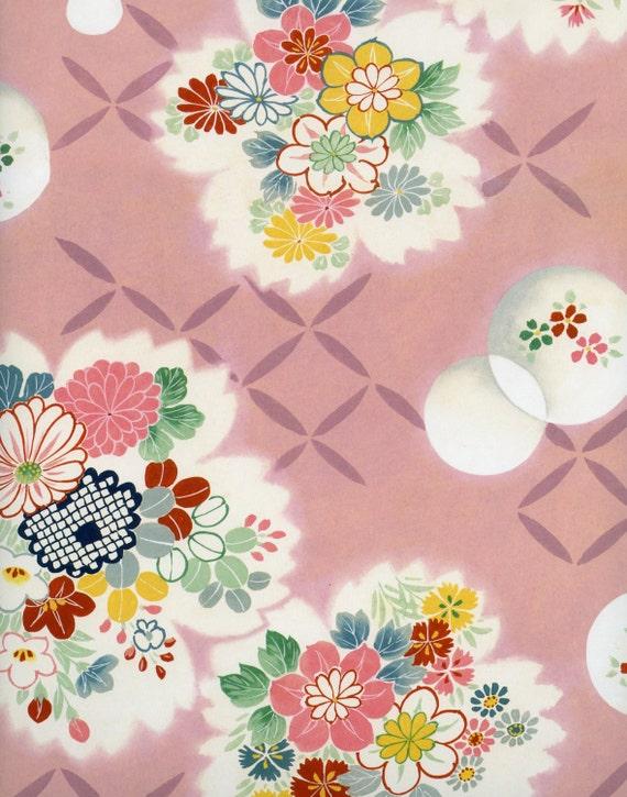 Kimono design decorative paper japanese by