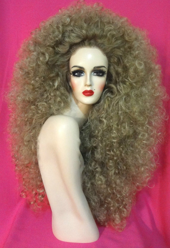 how to make big drag queen hair