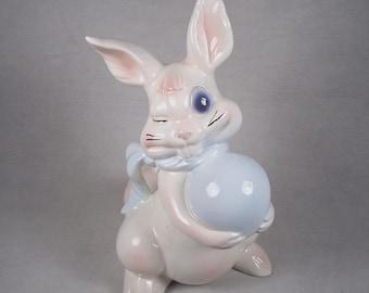 Bunny Rabbit Decor Easter Decorations Figurine Figure