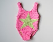 Vintage Baby Swimsuit Size 3 to 6 Months