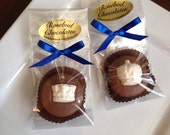 12 Chocolate Crown Oreo Cookie Favors Candy Sweets Prince Princess Homecoming