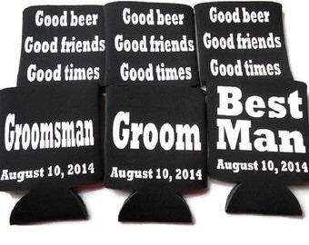 Groomsman KOOZIE®  Bachelor Party Favors, Wedding Party KOOZIE® Groomsmen Gifts, Best Man, Groom