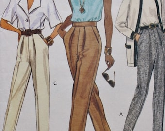 Pants Vogue 8068 Sewing Pattern EASY TO SEW Bust 40-44