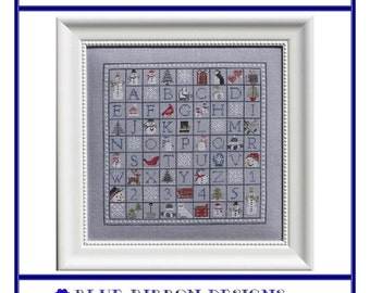 Winter Wingding (BRD-061) Cross Stitch Design