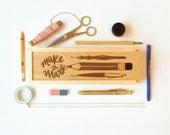 Make a Mark Stationery Box