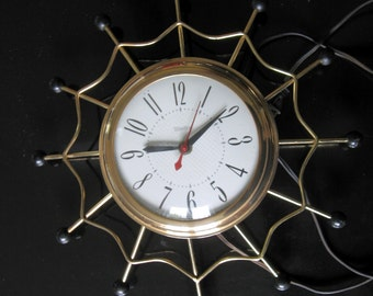 1950s-60s United Working Wall Clock