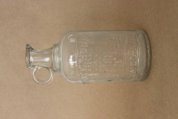 Vintage White House Vinegar Bottle