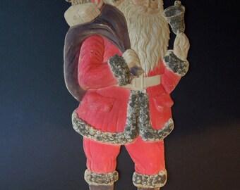 German Vintage Paper Santa Claus
