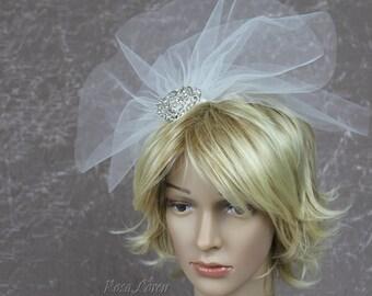 Short Wedding Veil, Short Veil, Veil for Wedding, Short Veil for Bride, Bridal Veil, Veil Bridal