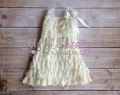 Ivory dress, newborn dress, Lace dress, baby girl outfit, infant outfit, special occasion dress, toddler dress, girls dress,