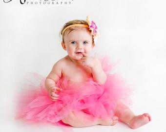 Many Colors- Tutu- Princess Tutu- Baby Tutu- Newborn Tutu- Infant Tutu- Toddler Tutu- Birthday Tutu- Photo Prop- Size 0-24M