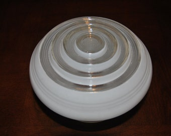 Vintage Milk Glass Shade