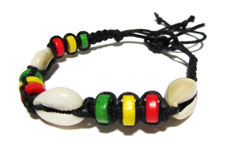 rasta hemp bracelet black hemp bracelet with wooden