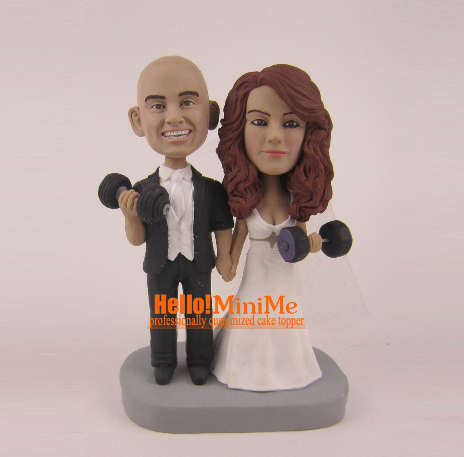 bobblehead wedding cake toppers personalized custom cake topper bobblehead wedding cake topper wedding 12068