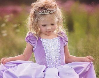 NOT FULL DRESS Swarovski Crystal & Pearl Add On Embellishment for Sofia The First