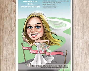 Custom Caricatures illustration from photos/ Cartoon Portrait illustration/ Personalized Gifts for Colleagues, Friends and Family
