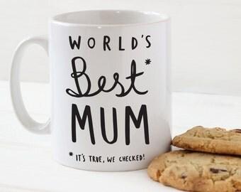 World's Best Mum Mug - Stylish Ceramic Mug for Mum - Mother's Day Gift - gift for mum - mug for mum