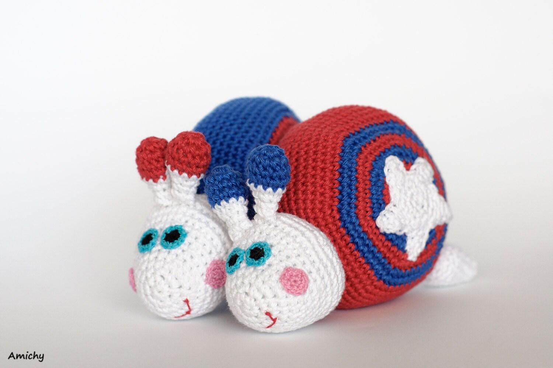 Amigurumi Stripes Tutorial : 4th of July Crochet Amigurumi Pattern Stars And Stripes