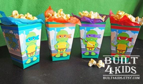 items similar to baby ninja turtles baby shower birthday movie night